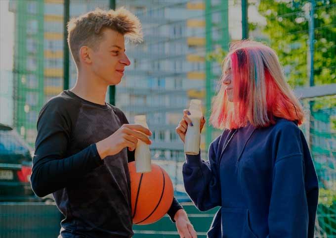 adolescente atleta