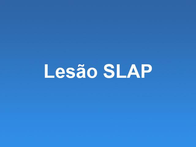 lesão slap